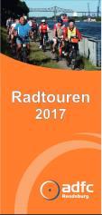 Titelblatt Radtourenprogramm 2017